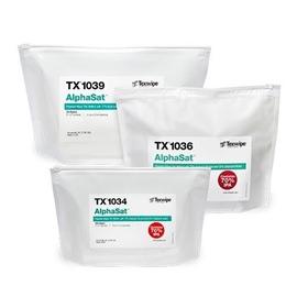 AlphaSat® Pre-Wetted Cleanroom Wipers, Sterile, Non-Sterile