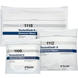 Picture of TechniCloth® II Dry Nonwoven Cleanroom Wipers, Non-Sterile