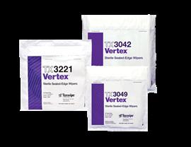 Vertex® Dry Cleanroom Wipers, Sterile