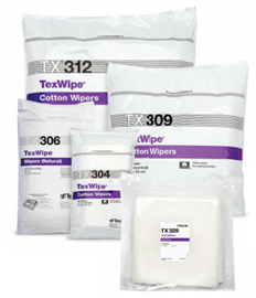 Picture of TexWipe®/NuCotton® Dry Cotton Cleanroom Wipers, Non-Sterile