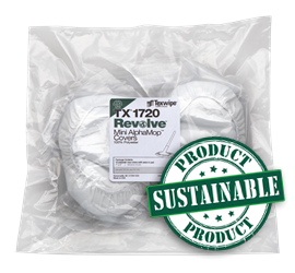 REVOLVE Mini AlphaMop™ Sustainable Integrated Covers/Pads, Non-sterile TX1720